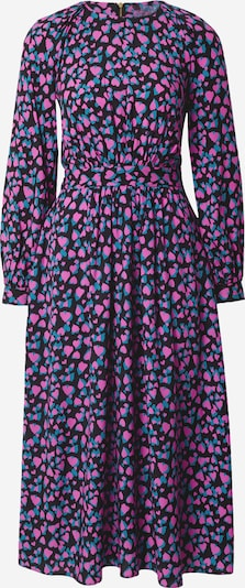 Closet London Dress in Turquoise / Pink / Black, Item view