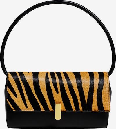 MANGO Tasche in hellbraun / schwarz, Produktansicht