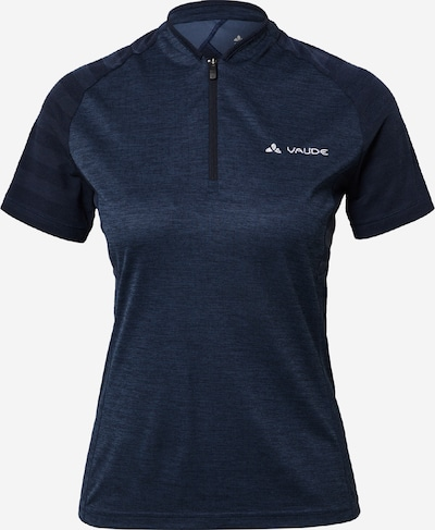 VAUDE Functioneel shirt 'Tamaro' in de kleur Navy / Wit, Productweergave