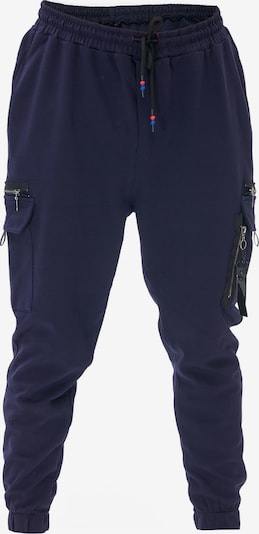 Tom Barron Sweathose MAN TRACKPANTS in blau, Produktansicht
