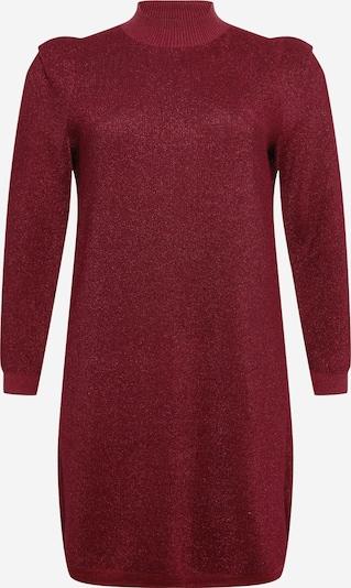 Vero Moda Curve Kleid  'Alyssa' in dunkelrot, Produktansicht