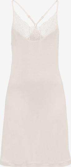 Hanro Nightwear Spaghettidress ' Irini (90cm) ' in rosé / offwhite, Produktansicht