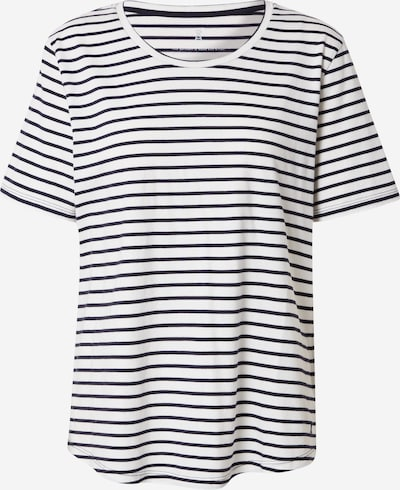 ARMEDANGELS T-Krekls 'MINAA', krāsa - tumši zils / gandrīz balts, Preces skats