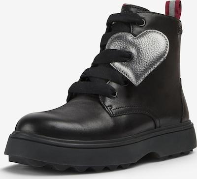 CAMPER Laarzen 'Norte' in de kleur Zilvergrijs / Zwart, Productweergave