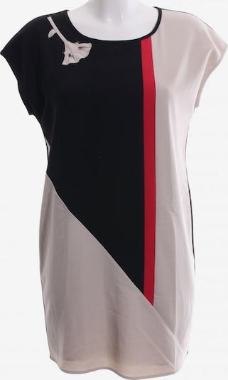Fracomina Etuikleid in S in rot / schwarz / wollweiß, Produktansicht