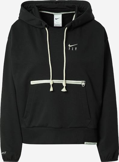 NIKE Athletic Sweatshirt in Black / White, Item view