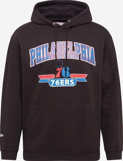 Mitchell & Ness Sweater majica 'PHILADELPHIA 76ERS' u plava / svijetlocrvena / crna / bijela, Pregled proizvoda