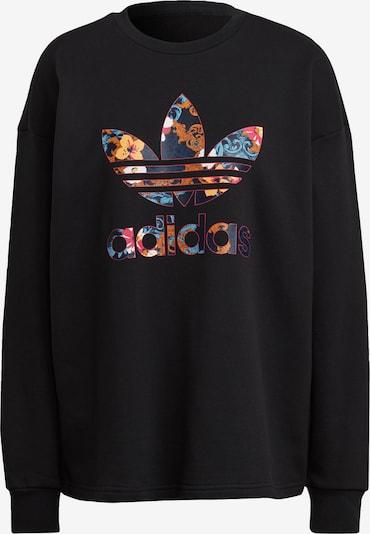 ADIDAS ORIGINALS Sweatshirt 'HER Studio London Sweatshirt' in blau / orange / rot / schwarz / weiß, Produktansicht