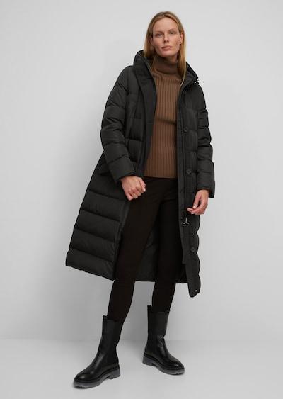 Marc O'Polo Kapuzen-Daunenmantel ' mit wasserabweisender Oberfläche ' in schwarz, Modelansicht