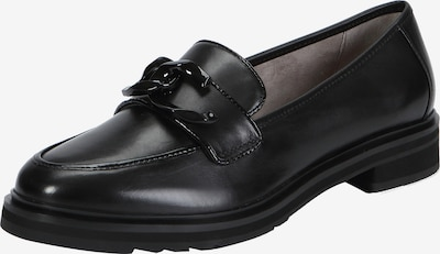 Ekonika Loafers mit stilvoller Vorderblatt-Verzierung in schwarz, Produktansicht