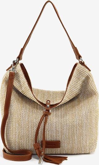 TAMARIS Handtasche 'Claudia' in beige / karamell, Produktansicht