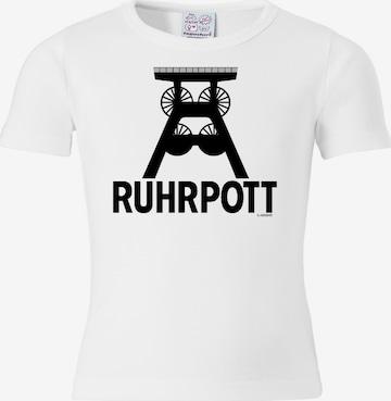 LOGOSHIRT Shirt 'Ruhrpott' in White
