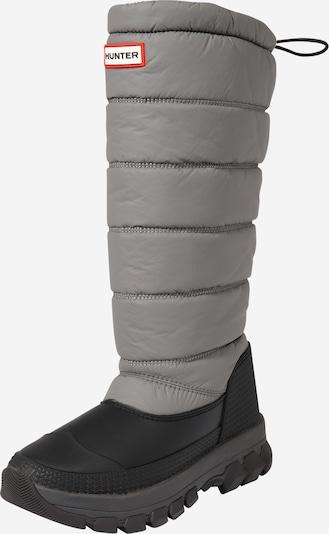 HUNTER Snehule - sivá / čierna, Produkt