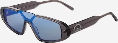 Karl Lagerfeld Sonnenbrille '6049S' in himmelblau / dunkelgrau, Produktansicht