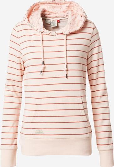 Ragwear Sweatshirt 'BERIT' in pfirsich / rostrot, Produktansicht