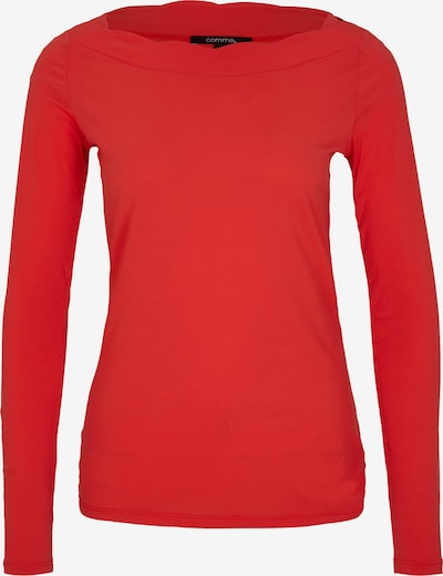 COMMA Shirt in rot, Produktansicht