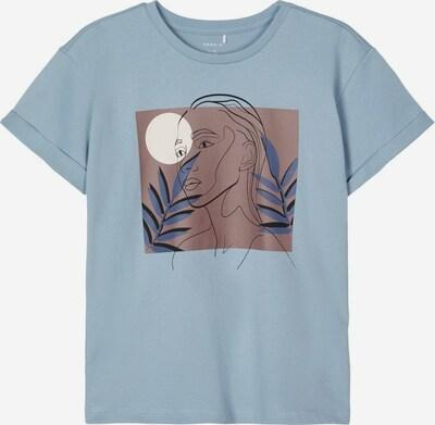 NAME IT Top in de kleur Blauw / Bruin / Wit, Productweergave