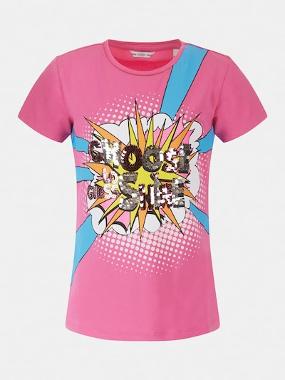 GUESS KIDS T-SHIRT in neonpink, Produktansicht
