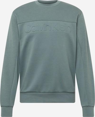Calvin Klein Sweat-shirt en jade, Vue avec produit