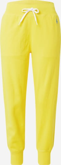 Pantaloni POLO RALPH LAUREN pe albastru / galben, Vizualizare produs