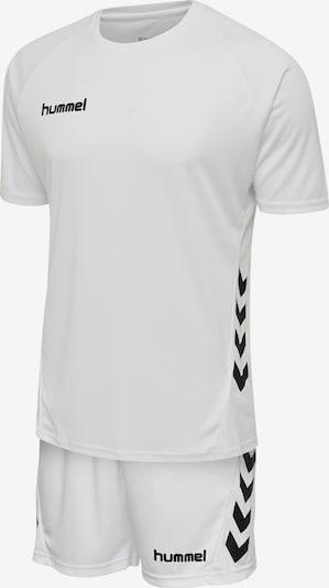 Hummel Sportanzug in schwarz / weiß, Produktansicht