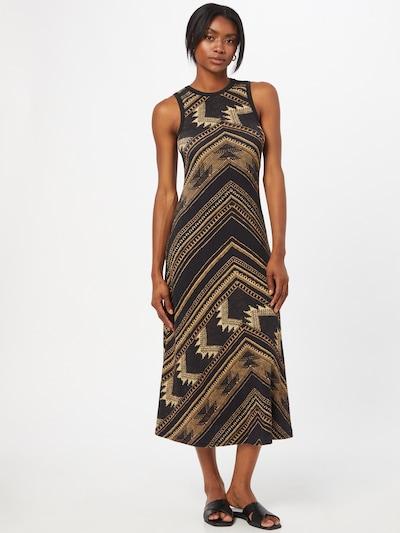 Rochie de vară POLO RALPH LAUREN pe bej / galben / negru, Vizualizare model