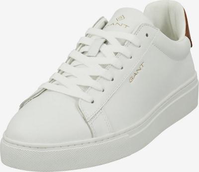 GANT Baskets basses 'Mc Julien' en marron / blanc, Vue avec produit