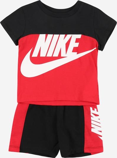 Nike Sportswear Set 'AMPLIFY' en rouge / noir / blanc, Vue avec produit