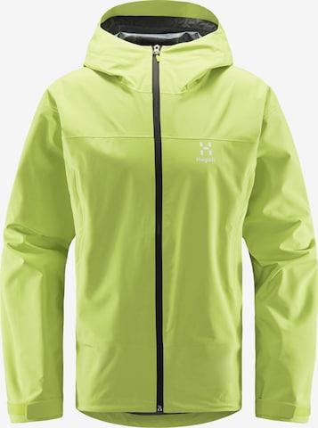 Haglöfs Outdoorjacke 'Spate' in Grün