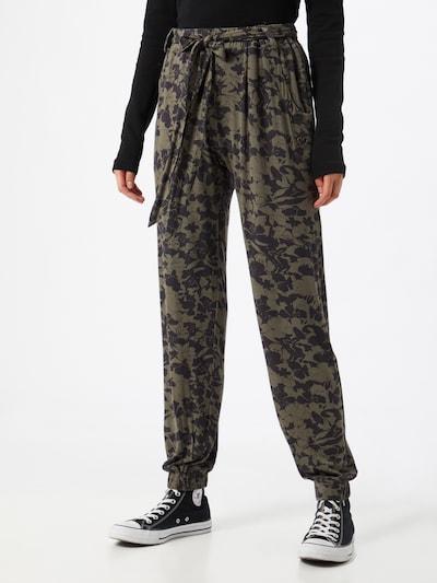 Pantaloni 'Alice' Alife and Kickin di colore marino / cachi, Visualizzazione modelli