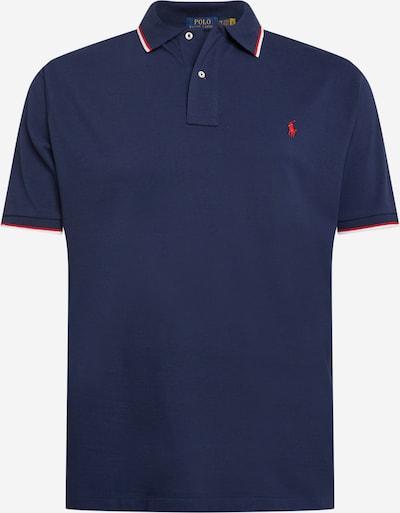 Polo Ralph Lauren Big & Tall T-Shirt en bleu marine / rouge / blanc, Vue avec produit