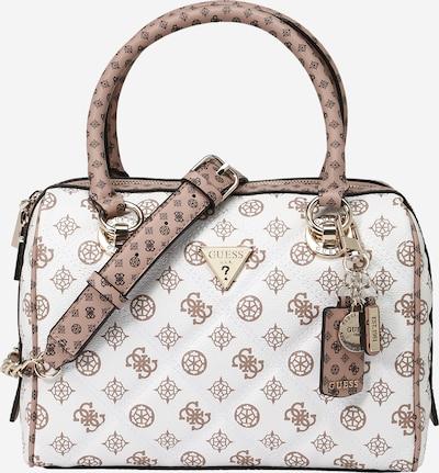 GUESS Ročna torbica 'Cessily'   svetlo rjava / bela barva, Prikaz izdelka
