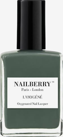 Nailberry Nail Polish 'L'Oxygéné Oxygenated' in Green