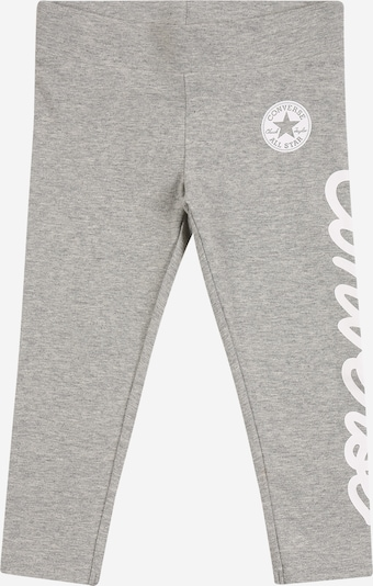 CONVERSE Leggings in grey mottled / white, Item view