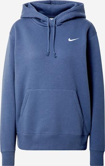 Megztinis be užsegimo iš Nike Sportswear , spalva - tamsiai mėlyna / balta, Prekių apžvalga
