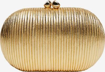 VIOLETA by Mango Clutch in gold, Produktansicht