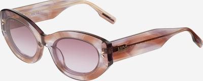 McQ Alexander McQueen Sonnenbrille in pastelllila / pastellorange, Produktansicht