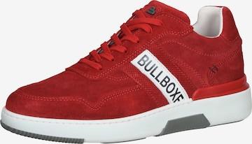 BULLBOXER Sneaker in Rot