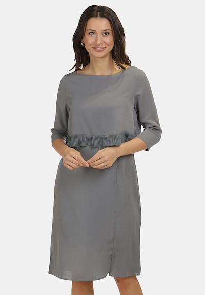 usha WHITE LABEL Kleid in rauchgrau, Modelansicht