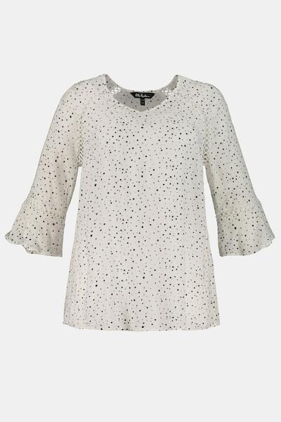 Ulla Popken Tuniek in de kleur Wit, Productweergave