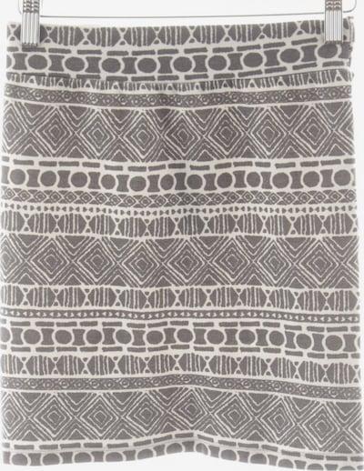Brandy Melville Bleistiftrock in XS-XL in hellgrau / weiß, Produktansicht