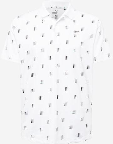 T-Shirt fonctionnel PUMA en blanc