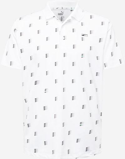 PUMA T-Shirt fonctionnel en vert clair / noir / blanc, Vue avec produit