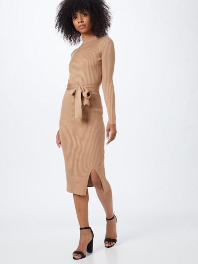Rochie tricotat NEW LOOK pe maro cămilă, Vizualizare model