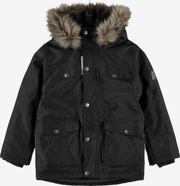 Veste d'hiver 'SNOW10' NAME IT en noir