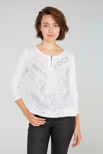 Soccx Shirt in wollweiß, Modelansicht