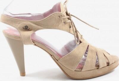 Fornarina High Heel Sandaletten in 38 in creme, Produktansicht