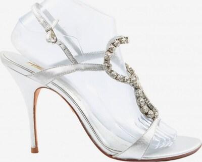 Buffalo London High Heel Sandaletten in 40 in silber, Produktansicht