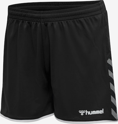 Hummel Shorts 'Authentic' in schwarz / weiß, Produktansicht