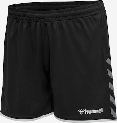 Hummel Sportbroek 'Poly' in de kleur Zwart / Wit, Productweergave